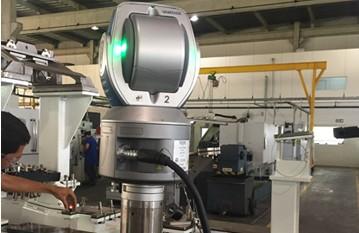 Montagem e Medição com Laser Tracker